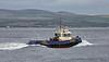 'Bruiser' passing Port Glasgow  21 May 2015