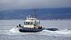 Tug Battler - Passing Port Glasgow - 16 November 2012