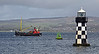 Vic32 - Puffer - Passing Port Glasgow - 13 May 2013