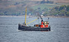 Puffer Vic 32 off Gourock - 4 May 2017