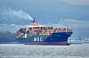 'MSC Sophie' off Greenock Esplanade - 18 March 2016