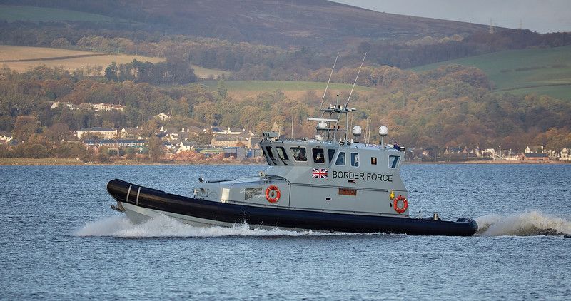 'HMC Active' off Port Glasgow - 16 October 2018