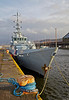 'Valiant' in James Watt Dock - 8 March 2014