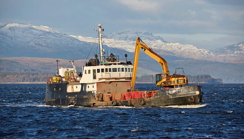 'Shearwater' off Port Glasgow - 30 November 2017