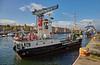 'MV Eigg' at James Watt Dock - 24 October 2015