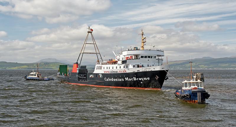 'MV Jupiter' at James Watt Dock - 2 June 2006