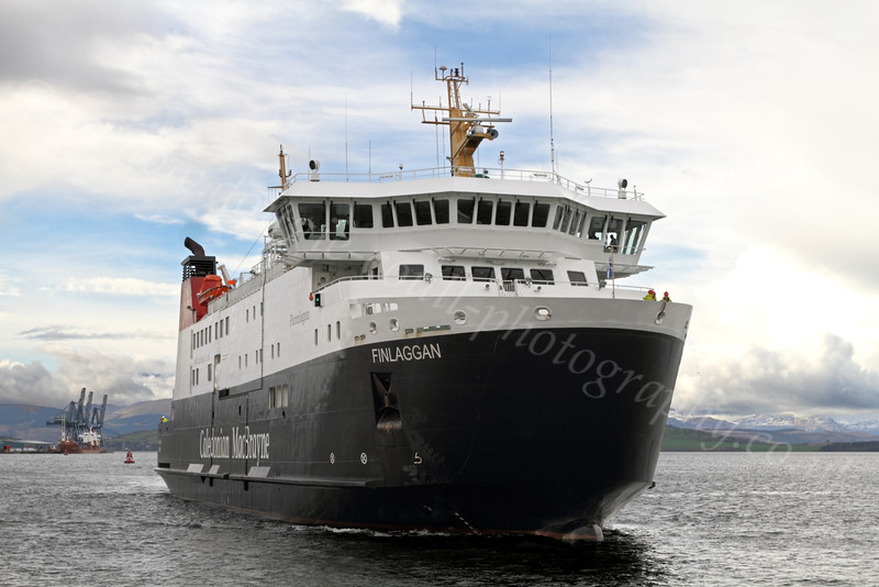 MV Finlaggan - James Watt Dock - 10 April 2012