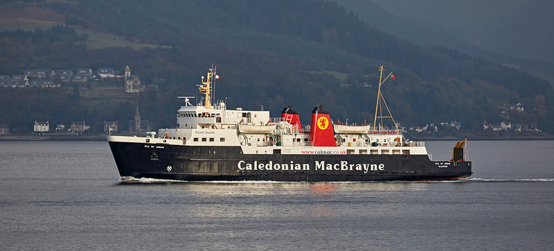 'MV Isle of Arran' off Gourock - 22 October 2016