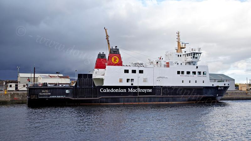 MV Bute - James Watt Dock - 17 September 2012