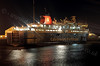 'Caledonian Isles' at Night - Garvel Dry Dock - 5 January 2012