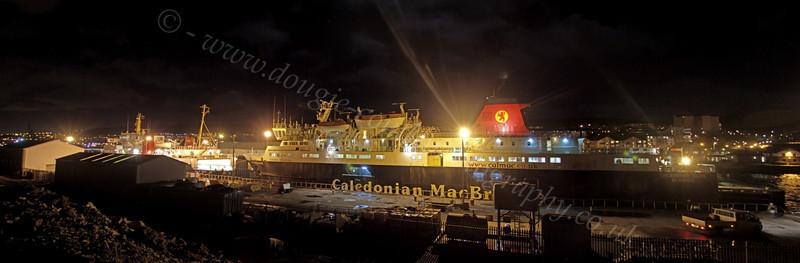 'Caledonian Isles' and 'Isle of Arran' - Garvel Dry Dock - 5 January 2012