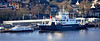 Argyll Flyer and Coruisk in Gourock - 12 February 2020