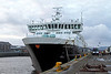 Caledonian Isles - James Watt Dock - 5 January 2012