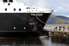 MV Finlaggan - Entering Garvel Dock - 11 April 2012