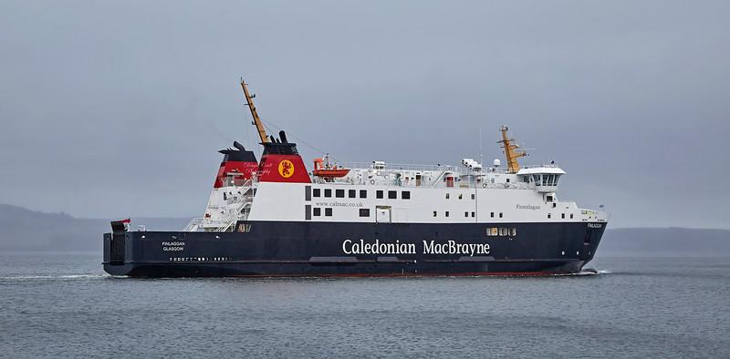 'MV Finlaggan' at James Watt Dock - 7 February 2018