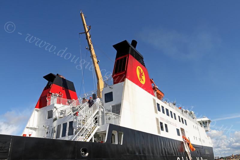 MV Finlaggan - James Watt Dock - 11 April 2012