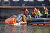 Marine Evacuation System testing on the 'Isle of Arran' at James Watt Dock - 25 September 2018