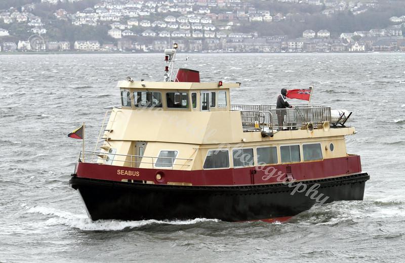 Seabus Arrives at Kilgreggan on a Blustery Day