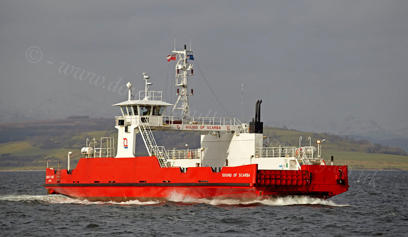 Sound of Scarba - Off East India Harbour - 11 February 2013