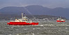 'Sound of Soay' and 'Sound of Shuna' Off McInroy's Point - 27 October 2013