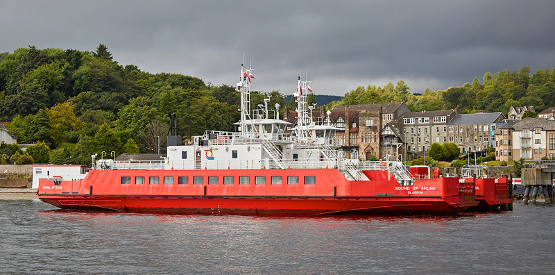 Western Ferries at Hunter's Quay - 6 August 2017