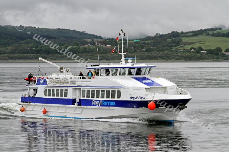 Argyll Flyer - River Clyde - 1 August 2011