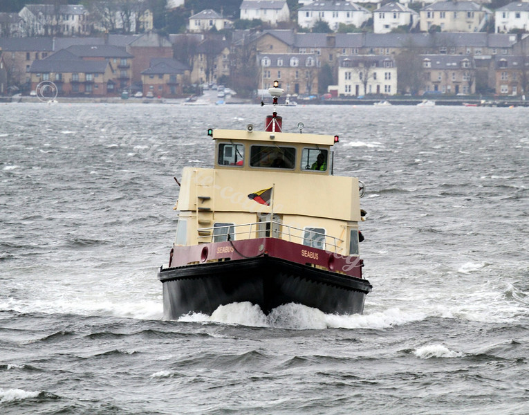 Seabus Arrives at Kilgreggan on a Blustery Day