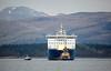 'Finnarrow' Off Greenock Esplanade at 07:30 - 22 February 2013