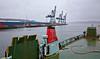 'MV Saturn' passing Greenock Ocean Terminal en-route to Garvel Dry Dock - 25 February 2015