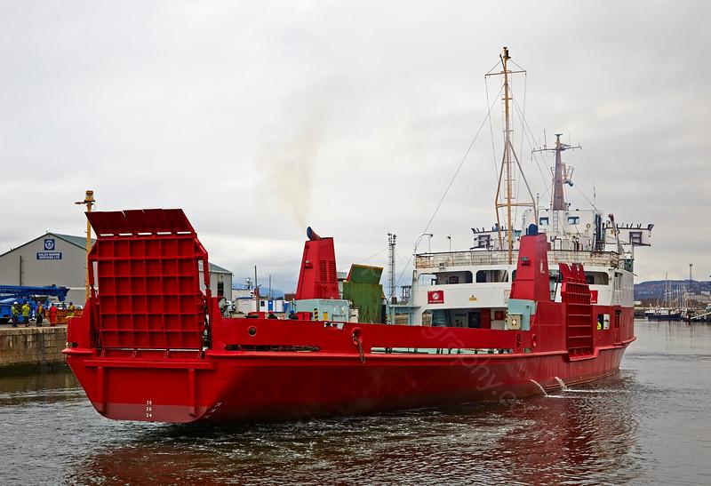 'MV Orcadia' at James Watt Dock Dock - 3 April 2015