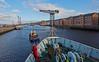 'MV Saturn' at James Watt Dock - 8 March 2015