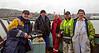 Transfer Crew aboard the 'MV Saturn' at Garvel Dry Dock - 25 February 2015