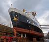 'MV Saturn' in Garvel Dry Dock - 1 March 2015