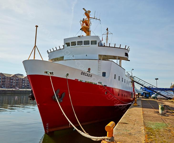 'MV Orcadia' at James Watt Dock - 22 April 2015