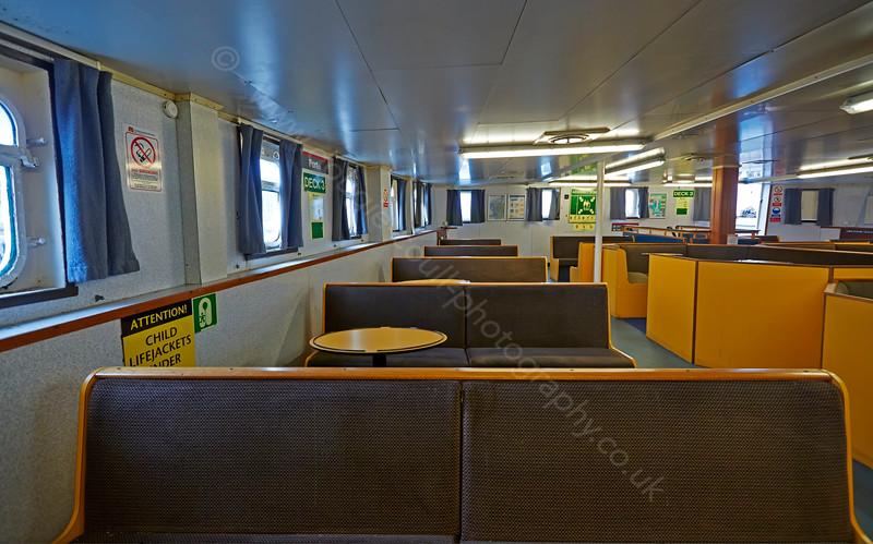 Below Decks on the 'MV Saturn' at Roseneath - 25 February 2015