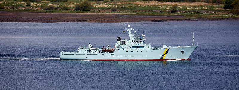 MPV Hirta off Langbank - 28 April 2020