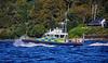MOD Police Boat 'Iona' off Rhu Spit - 4 September 2019