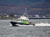 MOD Police Boat 'Harris' off Rhu Spit - 11 November 2019