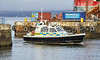 MOD Police Boat 'Eagle at James Watt Dock - 21 January 2020