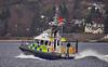 MOD Police Boat 'Tiree' off Rhu - 19 April 2016