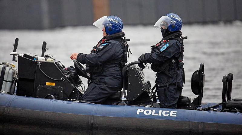 MOD Police at Work near Rhu Spit - 13 April 2018