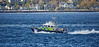 MOD Police Boat 'Harris off Cloch Lighthouse - 22 October 2017