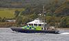 MOD Police Boat 'Gigha' - Gareloch - 1 October 2012
