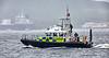 MOD Police Boat 'Skye' off Rhu Spit - 26 July 2016