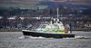MOD Police Boat 'Eagle' off Rhu Spit - 13 February 2020