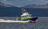 MOD Police Boat 'Barra' off Rhu Spit - 4 October 2020