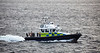 Police Boat 'Jura'  passing Cloch Lighthouse, Gourock - 29 September 2016