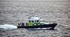 Police Boat 'Jura'  passing Cloch Lighthouse, Gourock - 29 September 2016