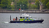 MOD Police Boat 'Tiree' off Rhu Spit - 13 May 2016