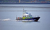 MOD Police Boat 'Barra' off Cloch Lighthouse - 12 January 2021